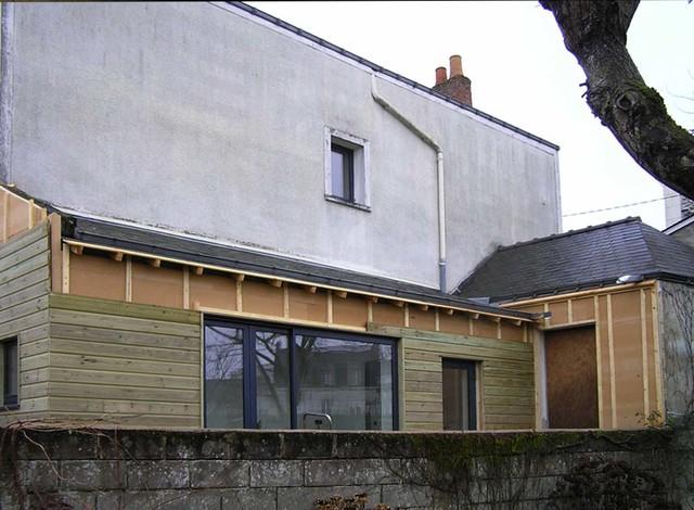 R novation maison de ville contemporary exterior for Renovation petite maison de ville
