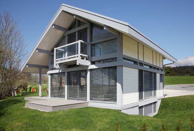 transparence contemporain fa ade dijon par myotte duquet habitat. Black Bedroom Furniture Sets. Home Design Ideas