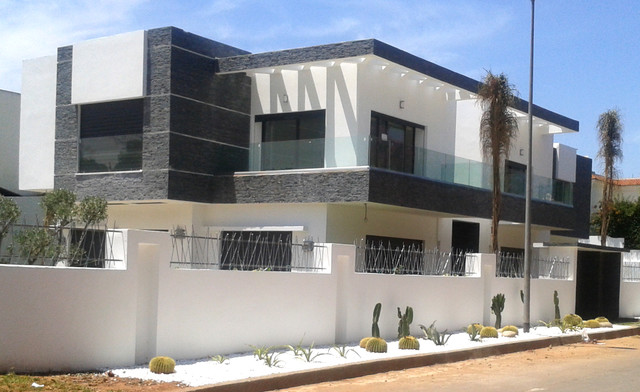 villa casablanca modern exterior other by medaghri. Black Bedroom Furniture Sets. Home Design Ideas