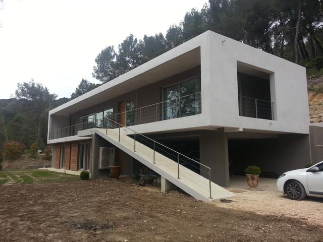 Villa de luxe moderne fa ade other metro par sarl for Les facades des villas modernes