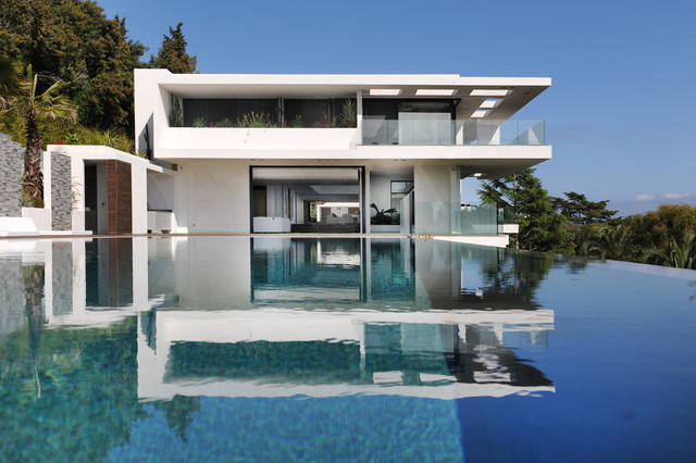 villa sud cannes france modern exterior nice by