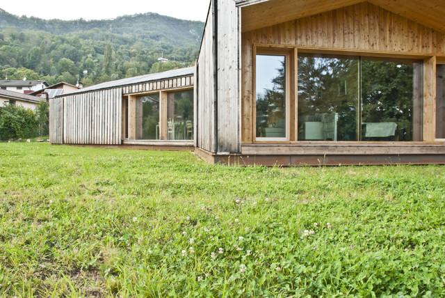 Casa lineare x lam - Casa passiva prefabbricata ...