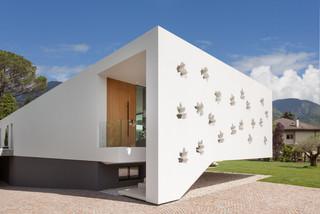 Foto E Idee Per Facciate Di Case Facciata Di Una Casa Moderna