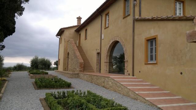 Ristrutturazione casa colonica e fienile for Intonaco rustico
