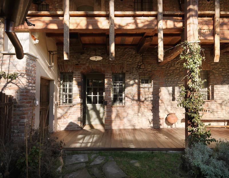 Una storica cascina recuperata
