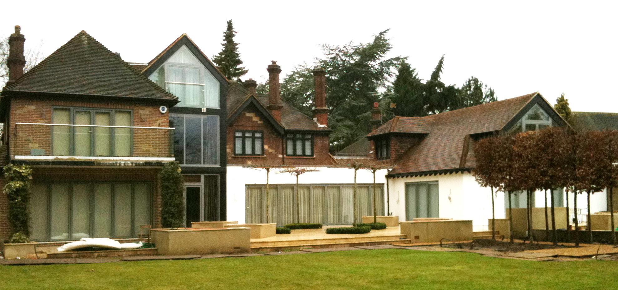 una villa all'inglese | 250 mq