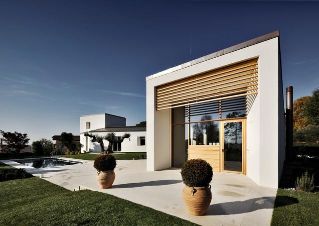 Villa montebelluna for Casa moderna venezia