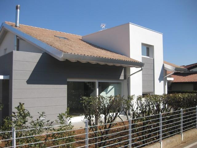Villa singola for Casa moderna venezia