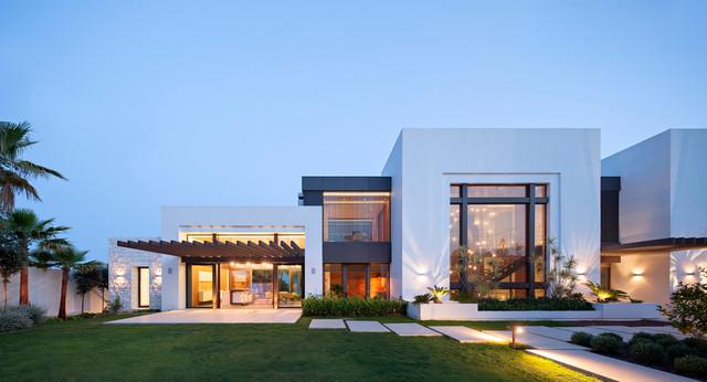 beach house contemporain fa ade autres p rim tres