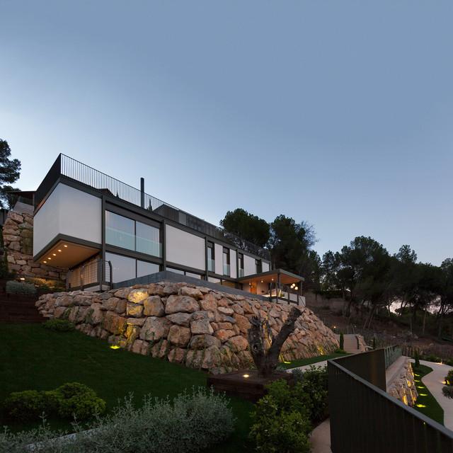 Casa El Bosque 161. Proyecto de vivienda unifamiliar, Valencia. moderno-fachada