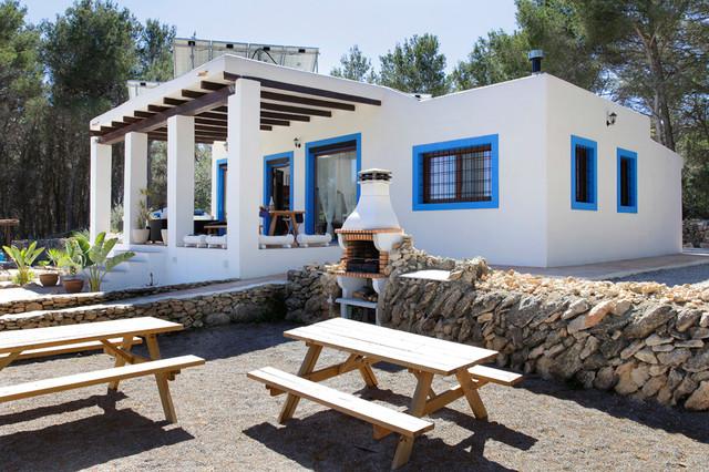 Casa ibiza mediterr neo fachada barcelona de jordi - Ibiza casas rurales ...