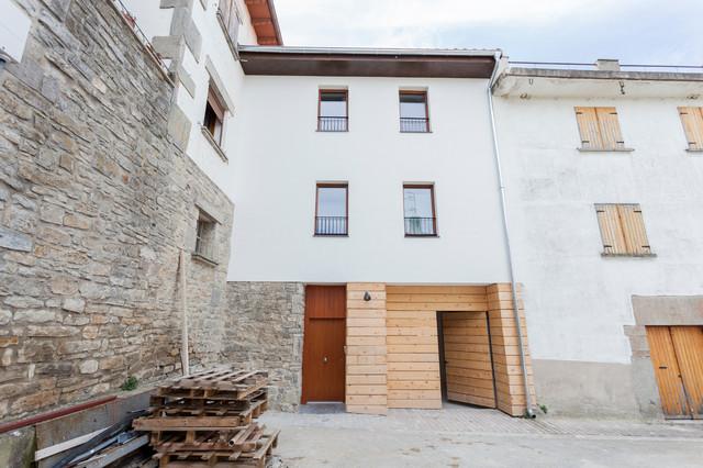 Casas para turismo rural bajo el estandar passivhaus en - Arquitectos navarra ...