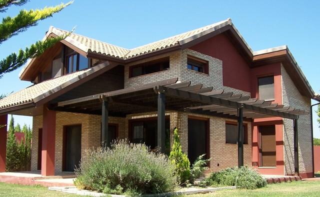 fotos de exteriores de viviendas de entramado ligero