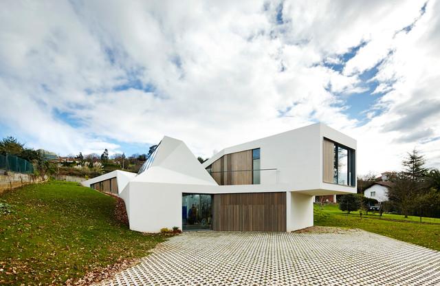 proyectos realizados contemporaneo-fachada