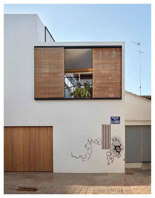 Rehabilitaci n integral de vivienda unifamiliar entre - Vivienda unifamiliar entre medianeras ...