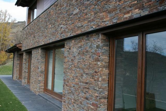 Tipos de piedra r stico fachada otras zonas de segalia - Recubrimientos para fachadas ...