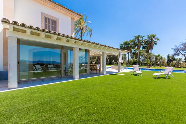 Villa kz s 39 aranjassa for Fachada casa campo