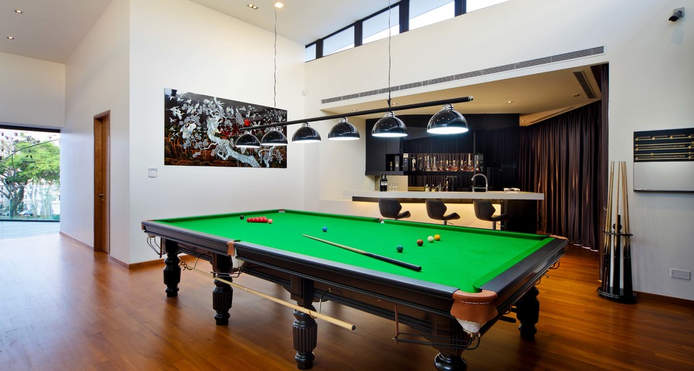 1 Cheng Soon Lane Asian Family Room Singapore By The Interior Place S Pte Ltd