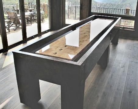 12' American Prairie Shuffleboard eclectic-family-room