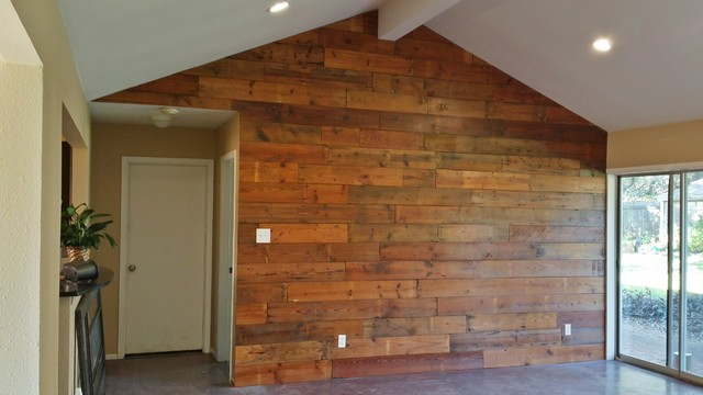 1947 1x7 Shiplap Accent Wall : rustic family room from www.houzz.com.au size 640 x 360 jpeg 49kB