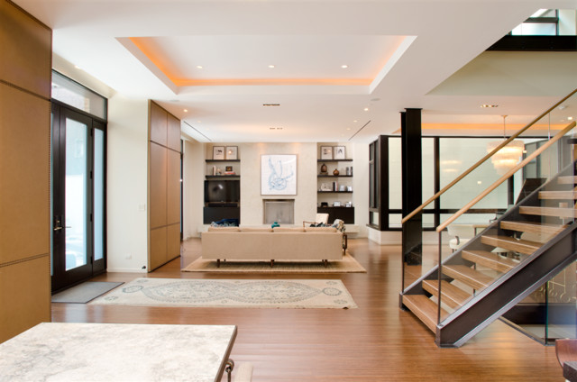 2. Chicago Renovation contemporary-family-room