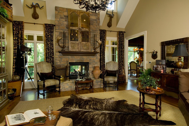 2007 southern living showcase home mediterranean family room other by dillard jones. Black Bedroom Furniture Sets. Home Design Ideas