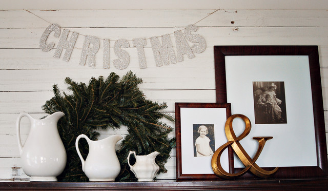 2010 Christmas Decor eclectic-family-room