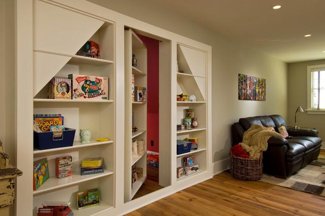 2011 Showcase - Hillside Retreat rustic-family-room