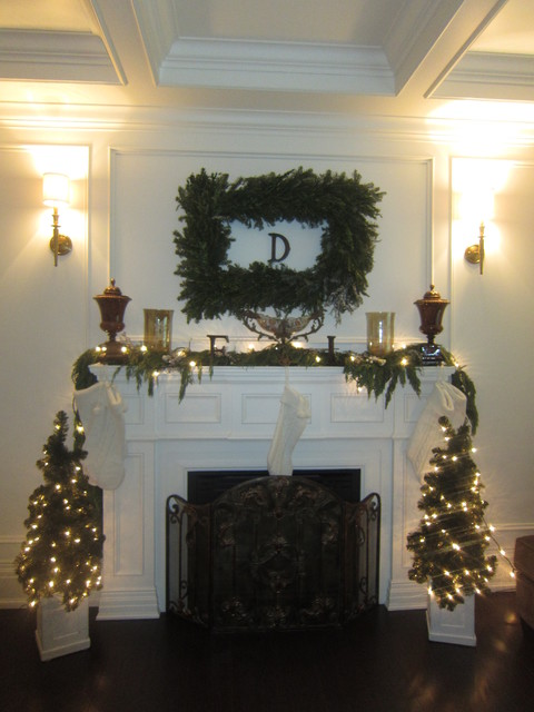 2012 Holiday Mantel traditional-family-room