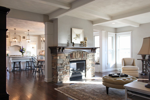 Traditional Family Room By Appleton General Contractors Bradd W Syring LLC
