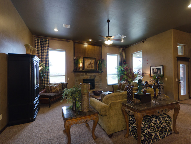 2013 Parade Home midcentury-family-room
