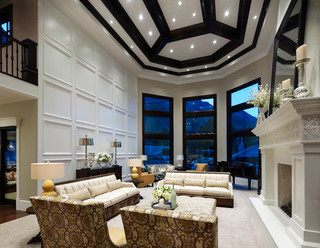 2014 Parade Home Alpine Transitional Family Room
