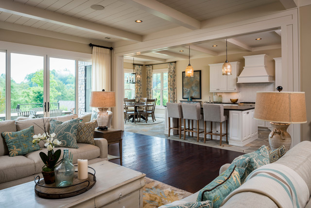 Elegant 2014 Southern Living Custom Builder Showcase Home At The Retreat At Cliffs  Falls Traditional Family
