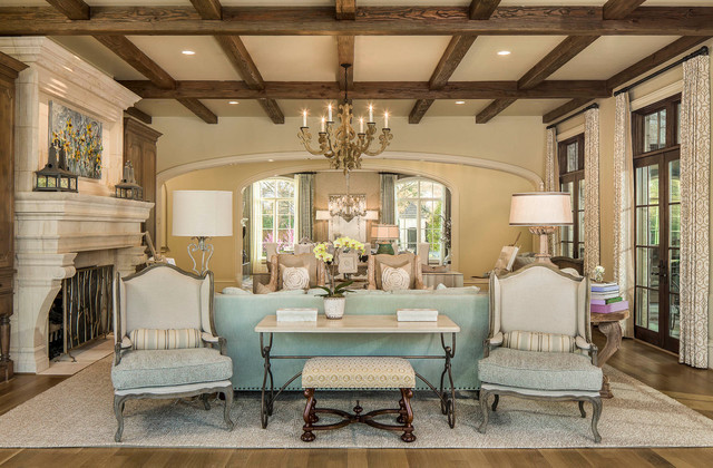 25,000 SF of Luxury traditional-family-room