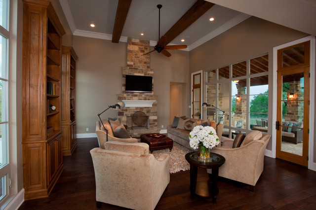 331 Copper Crest Model Home traditional family room