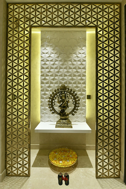 Divine Inspiration 12 Puja Room Ideas For Tight Spaces