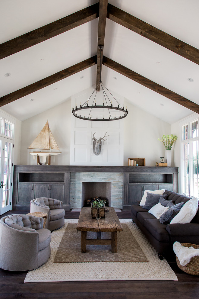 Transitional family room photo in Phoenix