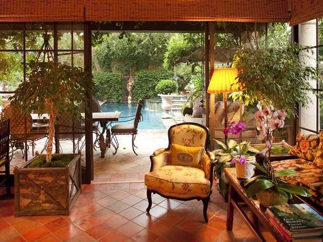 6281 Camino de la Costa - sunroom mediterranean-family-room