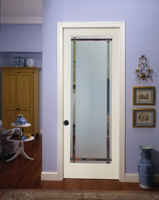 9 lite obscure decorative glass interior door family room sacramento by homestory easy for Decorative glass interior door