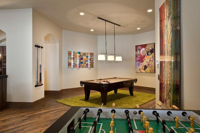 99 white pine - interiors contemporary-family-room