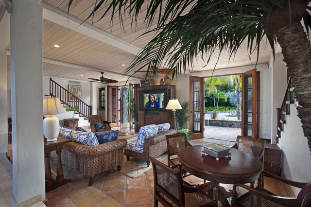 A' La Mer - Family Room tropical-family-room