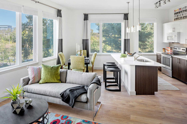 A multi family community in boston contemporary family for Accents salon bellingham