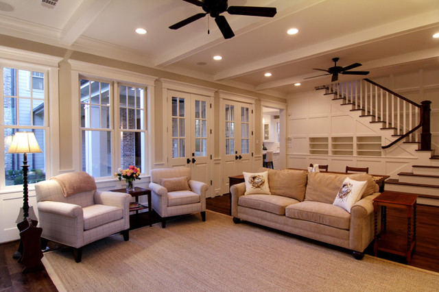 A True Family Room traditional-family-room