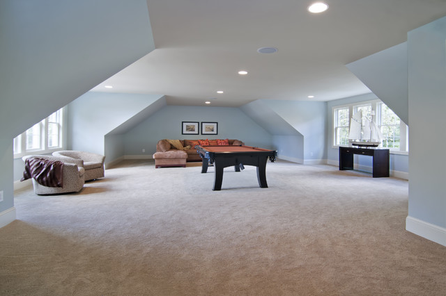 A bonus room above and a homedesignpictures for Double garage with room above