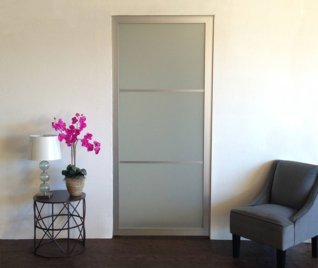 Plexi Glass Doors : Acrylic glass pocket doors contemporary family
