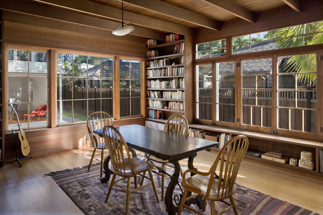 Addition/Remodel of Historic House in Palo Alto contemporary-family-room