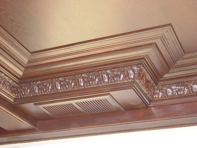 Advanced design to finish crown molding 2 traditional for Advanced molding decoration