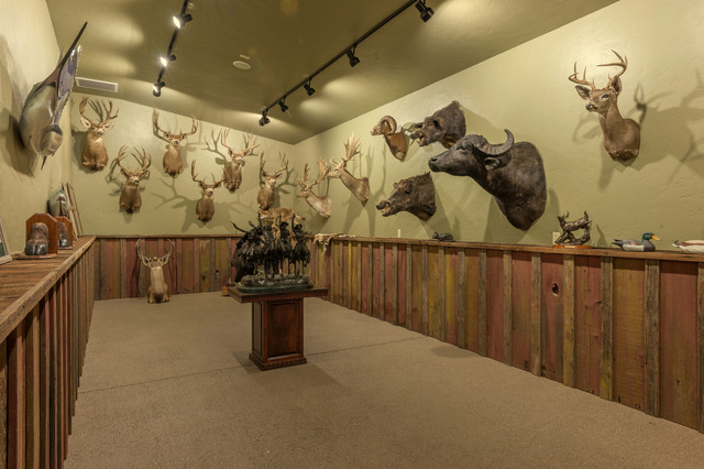 African Safari Game Room Amp Hunting Fishing Trophy Room
