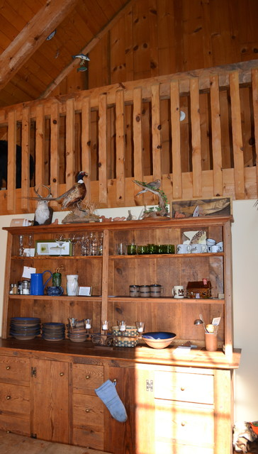 Afton Virginia Cabin eclectic-family-room