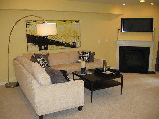 ALEXANDER'S CHASE- MONTGOMERY MODEL contemporary-family-room